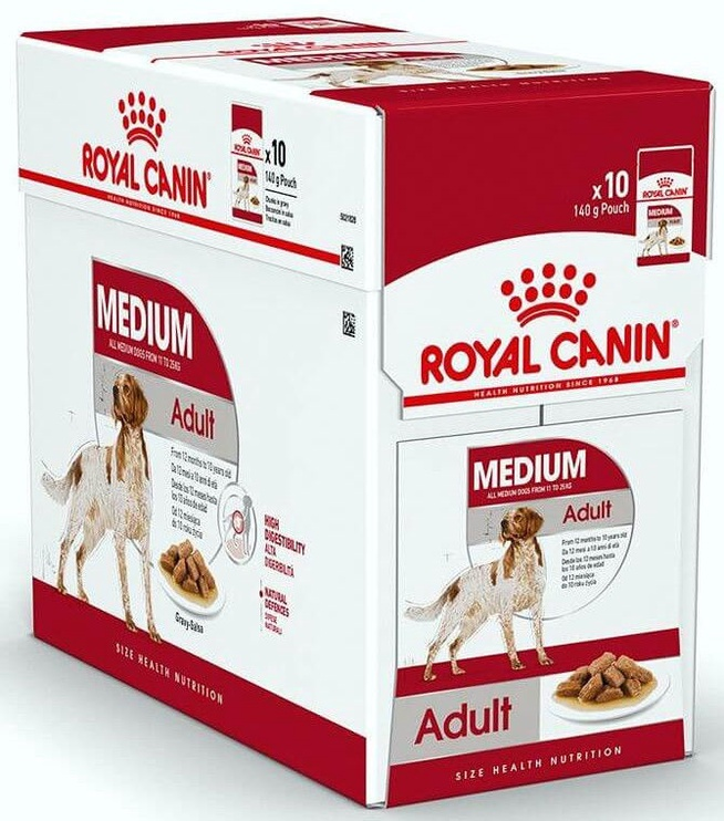 Royal Canin SHN Medium Adult Wet 140g 10pcs