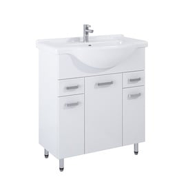 Elita Cabinet With Sink Eve 167053+145475 White