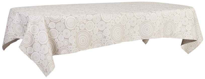 Home4you Tablecloth Munro 136x220cm Beige