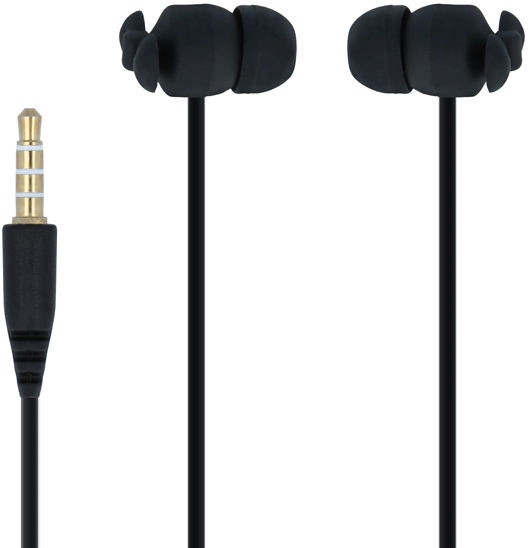 Forever CM-370 In-Ear Earphones Black w/ Bag