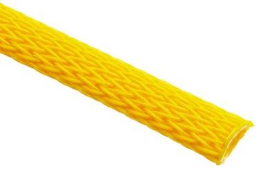 Techflex Flexo PET Sleeve 6mm Neon Yellow 1m