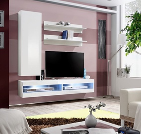 ASM Fly S4 Living Room Wall Unit Set White