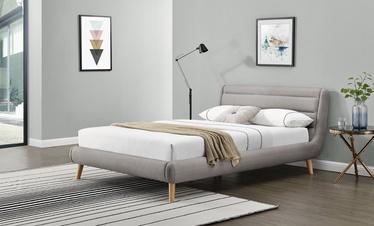 Кровать Halmar Elanda Light Grey, 140 x 200 cm
