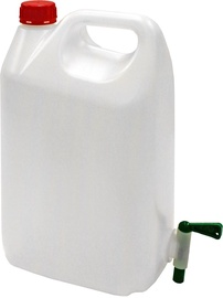 Diana Can with Tap 5l White