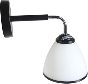 Verners Elva 73784-1B Wall Lamp 60W E27 Black/Chrome