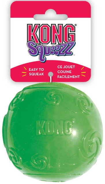 Kong Extra Large Squeezz Ball Green