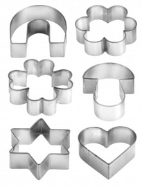 Tescoma Delicia Cookie Cutters On Ring 6pcs