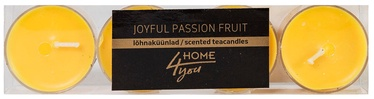 Home4you Teacandles 4pcs Joyful Passion Fruit