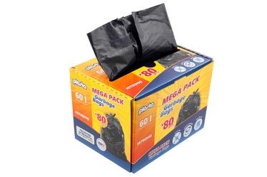 Plasta Waste Bags Mega Pack 60l 80pcs