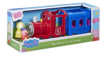 TM Toys Peppa Pig Miss Rabbits Train & Carriage