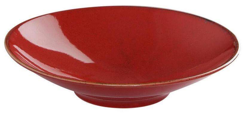 Porland Seasons Deep Plate D26cm Red