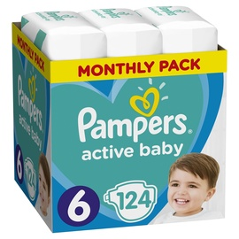 Pampers Active Baby S6 124