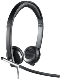 Kõrvaklapid Logitech H650e Black