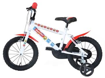 "Laste jalgratas Bimbo Bike 77323 16"" White Red"