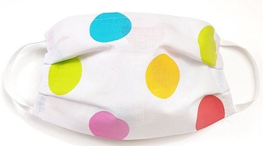 MamoTato Child Face Mask With Filter Pocket Colored Dots