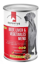 Expertus Beef Liver Vegie 400g