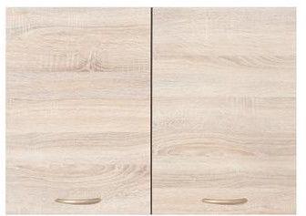 Black Red White Kitchen Upper Cabinet Junona Line G2D/80/57 Sonoma Oak