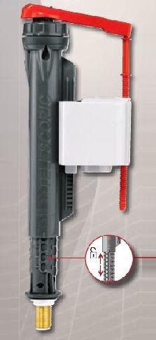 Wirquin Jollyfill 3/8 Bottom Inlet Supply Metallic