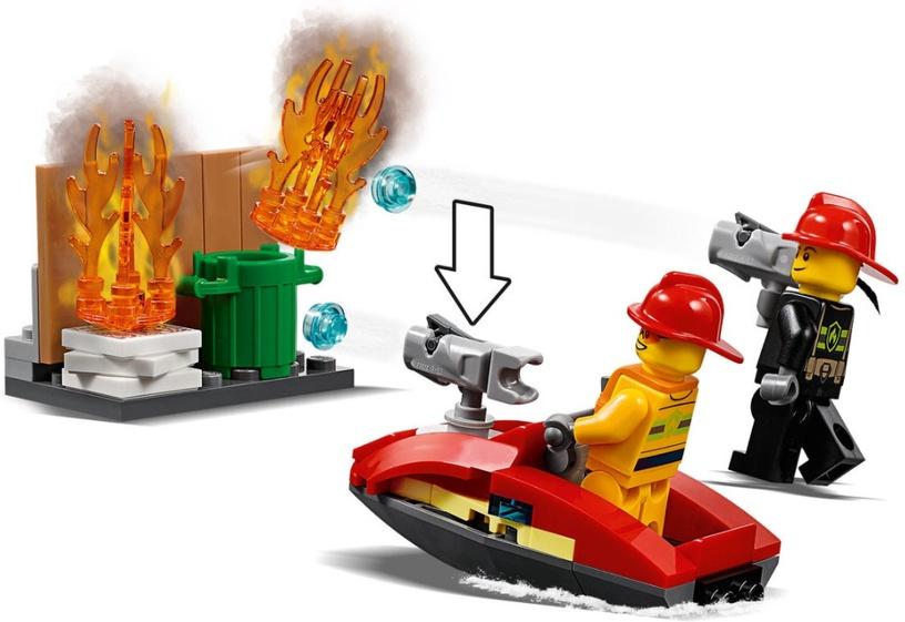Konstruktor LEGO® City 60215 Tuletõrjedepoo