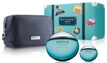 Набор для мужчин Bvlgari Aqva Marine 3pcs Set 115ml EDT
