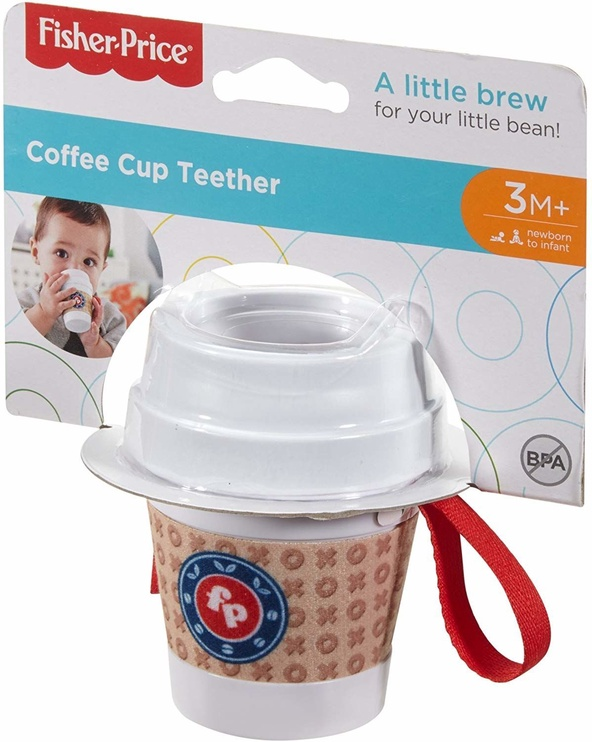 Fisher Price Coffee Cup Teether DYW60