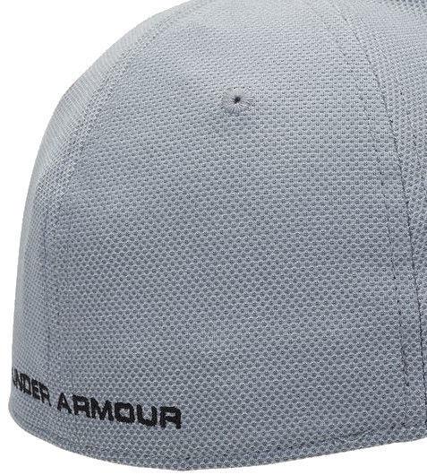 Under Armour Cap Men's Heathered Blitzing 3.0 Cap 1305037-035 Grey L/XL