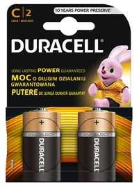 Duracell Alkaline C LR14 2pcs