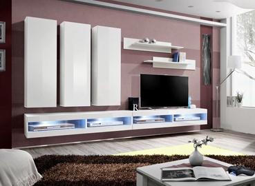 ASM Fly Q6 Living Room Wall Unit Set White