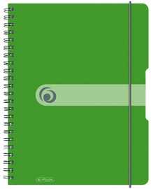 Herlitz Spiral Pad To Go A4 Green 11293099