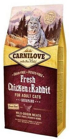 Carnilove Adult Cat Fresh Chicken & Rabbit 6kg