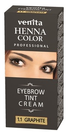 Venita Henna Eyebrow Tint Cream 15g Graphite