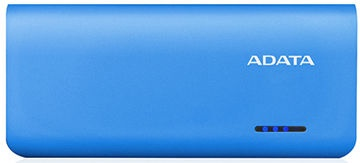 ADATA PT100 Power Bank 10000mAh Blue/White