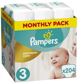 Pampers Premium Care S3 204