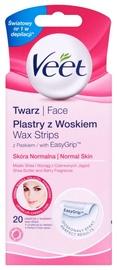 Veet Face Wax Strips Normal 20pcs