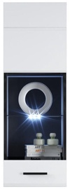Sektsioonkapp Tuckano Canada Hanging Glass Case 2 380x1100x350mm White