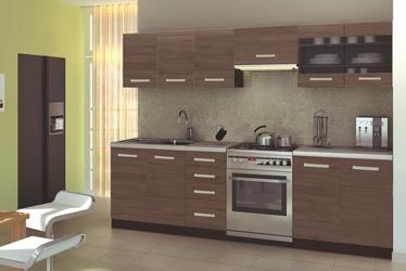 Кухонный гарнитур Halmar Amanda 1 Wenge/Oak/Granite, 2.6 м