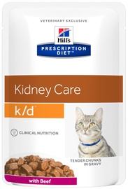 Hill's Prescription Diet Kidney Care k/d Beef 12x85g