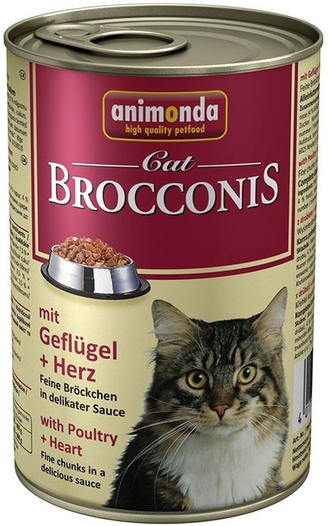 Animonda Brocconis With Heart & Poultry 400g