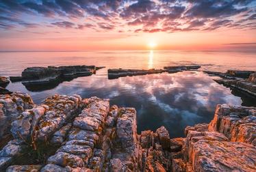 Komar Mirror Coast Photo Wallpaper XXL4-1030