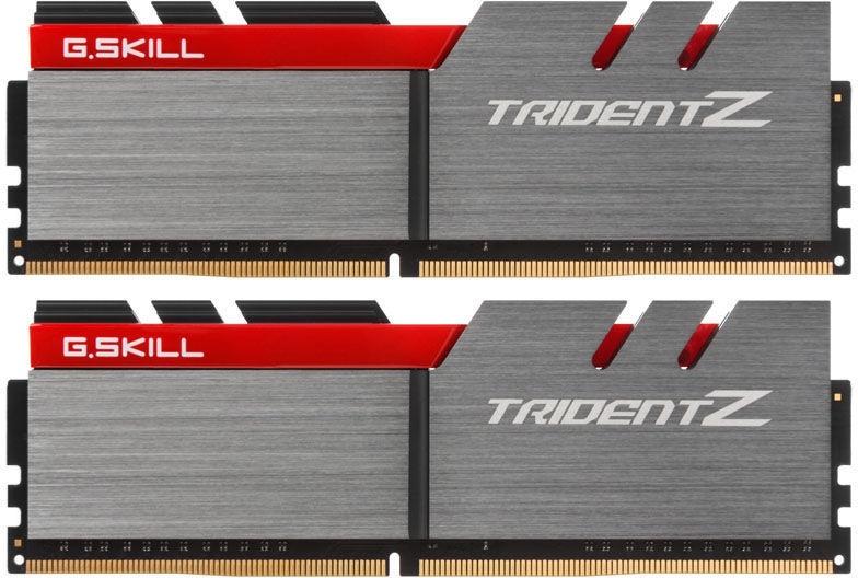 G.SKILL Trident Z 16GB 3200MHz CL15 DDR4 KIT OF 2 F4-3200C15D-16GTZ