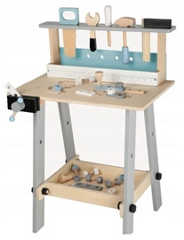 EcoToys Wooden Workshop With Tools 1172