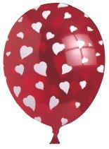 Viborg Heart Balloons 6pcs 80604H