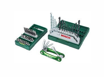 Bosch Mini X-Line Drill Set & Hex-Tool 40pcs