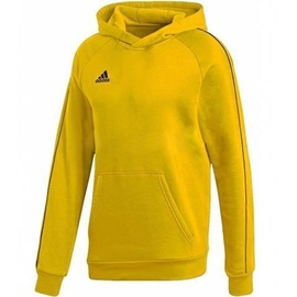 Adidas Core 18 Hoodie Youth FS1892 Yellow 176cm