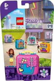 Konstruktor LEGO Friends Olivias Gaming Cube 41667, 64 tk