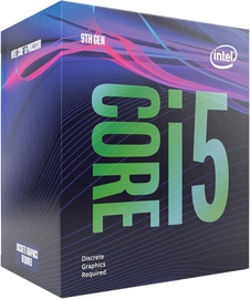 Intel® Core™ i5-9500F 3GHz 9MB BOX BX80684I59500F