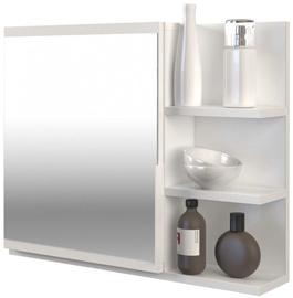 Top E Shop Cabinet Lumo With Mirror Right White