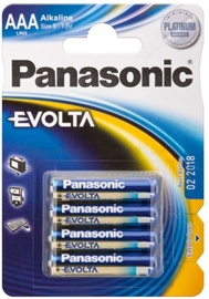 Panasonic Evolta LR03 Alkaline Battery AAA x 4