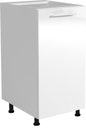 Кухонный шкаф Halmar Vento, белый, 400x520x820 мм