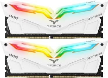 Team Group T-Force Nighthawk White RGB 16GB 3600MHz CL18 KIT OF 2 TF2D416G3600HC18EDC01